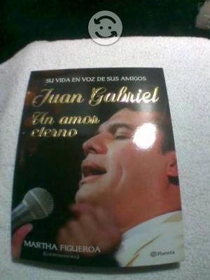 Libro de Juan Gabriel, un amor eterno