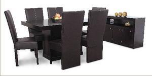 1 Mesa De Madera Para Comedor De 6 Personas.