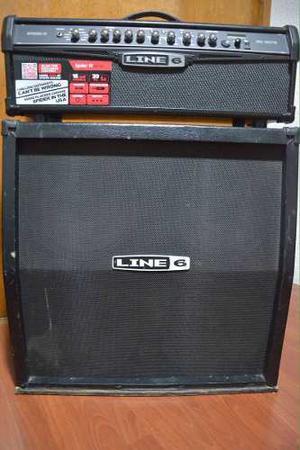 Amplificador P/guitarra Half Stack Line 6 Spider Iv Completo