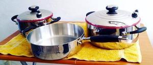 Bateria de cocina alemana acero quirurgico posot class for Bateria de cocina alemana