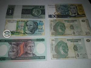 Billetes África y Brasil
