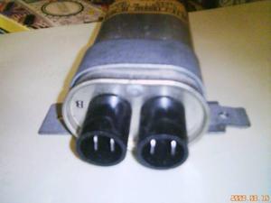 CAPACITOR ELECTROLITICO  VAC, 0.74 MFD. PARA HORNO DE MI