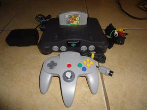 Consola Nintendo 64 + Super Mario 64 + Control + Cables +++