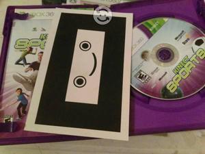 Kinect Sports xbox 360 con tarjeta de calibración