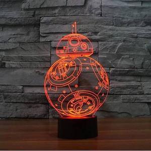 Lampara de Star Wars BB8