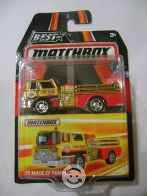 Matchbox 75 Mack CF Pumper Carro de Bomberos