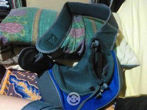 Mochila-bolsa transportadora para gato o perro