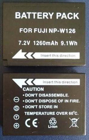 Pila Np-w126 Para Camara Fujifilm X