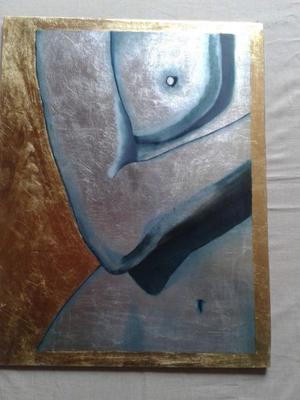 Pinturas sobre hoja de oro