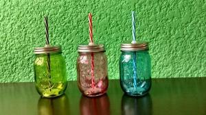 Juego de 12 mini tarros de vidrio posot class - Tarros de vidrio ...