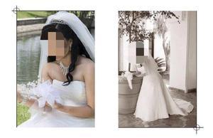 Vestido de novia seminuevo.