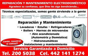 refrigeradores, reparación Querétaro a domicilio,