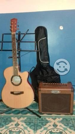 Guitarra electroacustica oferta