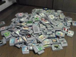 Paquete De Cartuchos De Nintendo  Cartuchos)