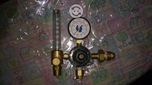 Regulador argón con flujometro