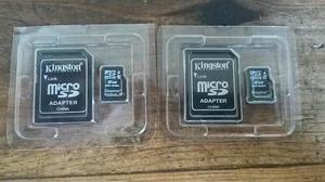 Tarjetas De Memoria Micro Sd 8gb Con Adaptador Para Pc (2)