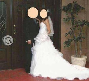 Vestido novia casa iza talla 3 a 5