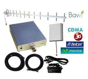 Kit Rural Amplificador de Señal Celular 65db 850 Mhz 3G