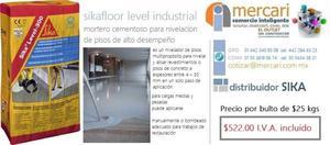 SIKAFLOOR Level Industrial / Nivelación de Piso / MERCARI