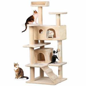 Arbol trepador rascador para gatos casa mascota posot class - Casa para gato ...