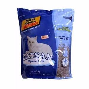 Catsan, Arena Para Gatos 3 Kg. - A Domicilio
