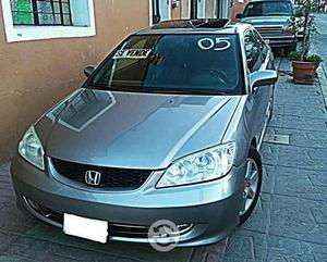 Civic 2005 EX coupe equipado deportivo v-tec