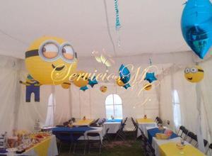 Paquete para fiestas infantiles: Renta de Carpa, Payaso,