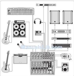 Vendo mezcladora behringer xenyx fx mixer y par de