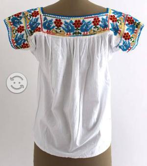 Blusas Chaquira!! Bordadas A Mano Por Artesanos Me