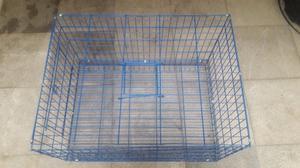 Jaula Básica Para Conejos Y Cuyos $400