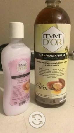 Kit Shampoo y Colageno con Argán Femme D'or