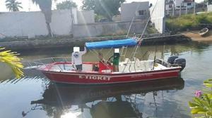 Super Panga De Pesca Deportiva 23 Pies / Lancha Oportunidad