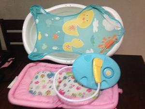 Bañera para bebe y Ropa de niña