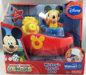Barco Bote De Rescate Disney Mickey Mouse Clubhouse