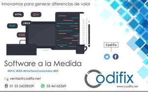 Desarrollo de software a la Medida, Tlalnepantla de Baz.