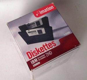 Disquette Imation 1.44mb. 2hd Caja Con 10 Piezas