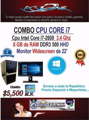 SUPER Computadora completa core i7