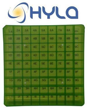 Caja Para Almacenaje De 81 Microtubos.