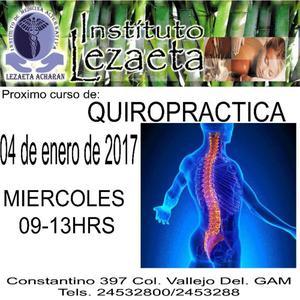 Curso de Quiropractica