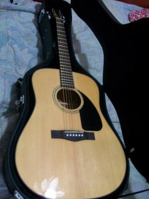 Guitarra Acustica Fender Cd-60 Natural Con Estuche Original