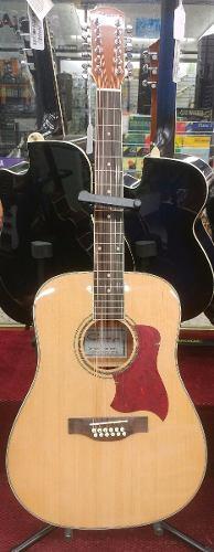Guitarra Electroacustica Caraya Natural F-eqn
