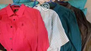 Lote de 4 camisas talla L