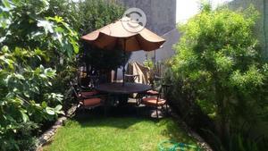 Mesa de Jardín con cubierta de piedra y 6 sillones