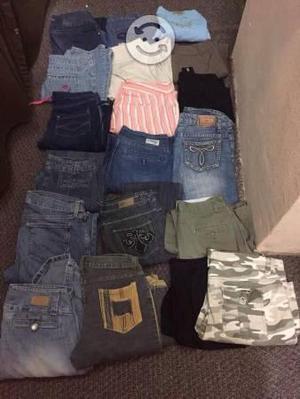 80 piezas de ropa usada