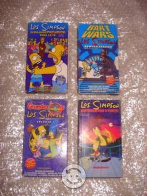 Videos VHS Los Simpson