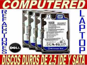Discos De Laptop 2.5 Sata De 160 En Buen Estado