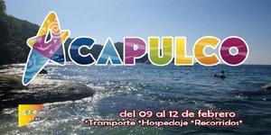 Excursion Acapulco del 09 al 12 de Febrero.