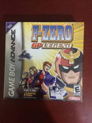 F-zero Gp Legend + (Nuevo Y Sellado) + Envio Gratis