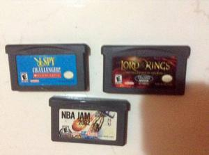 Juegos Para Game Boy Advance Sp ($90 Cada Uno)