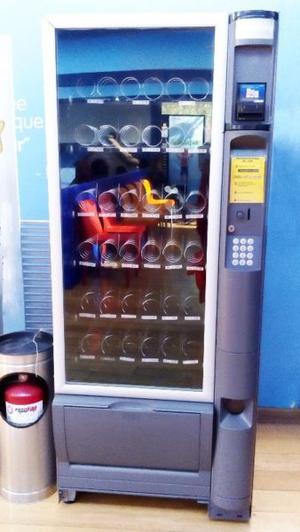 Máquina expendedora Vending, dulces, botanas, jugos etc